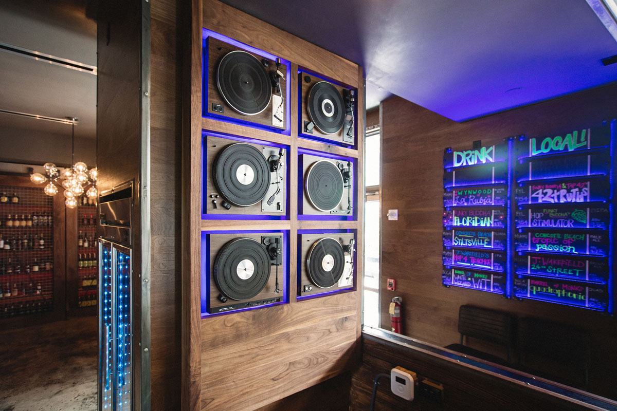 Turntable Wall Installation designed by DUOFAB