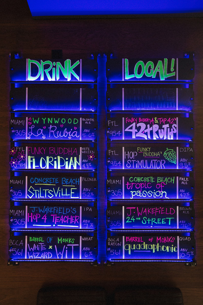 Craft Beer Tap List for Tap 42 - Crafted by DUOFAB