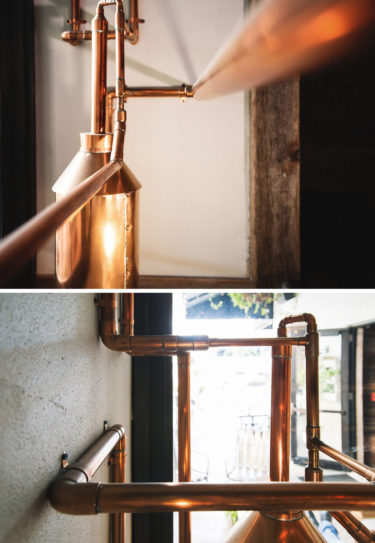 whiskey still sculpture by DUOFAB