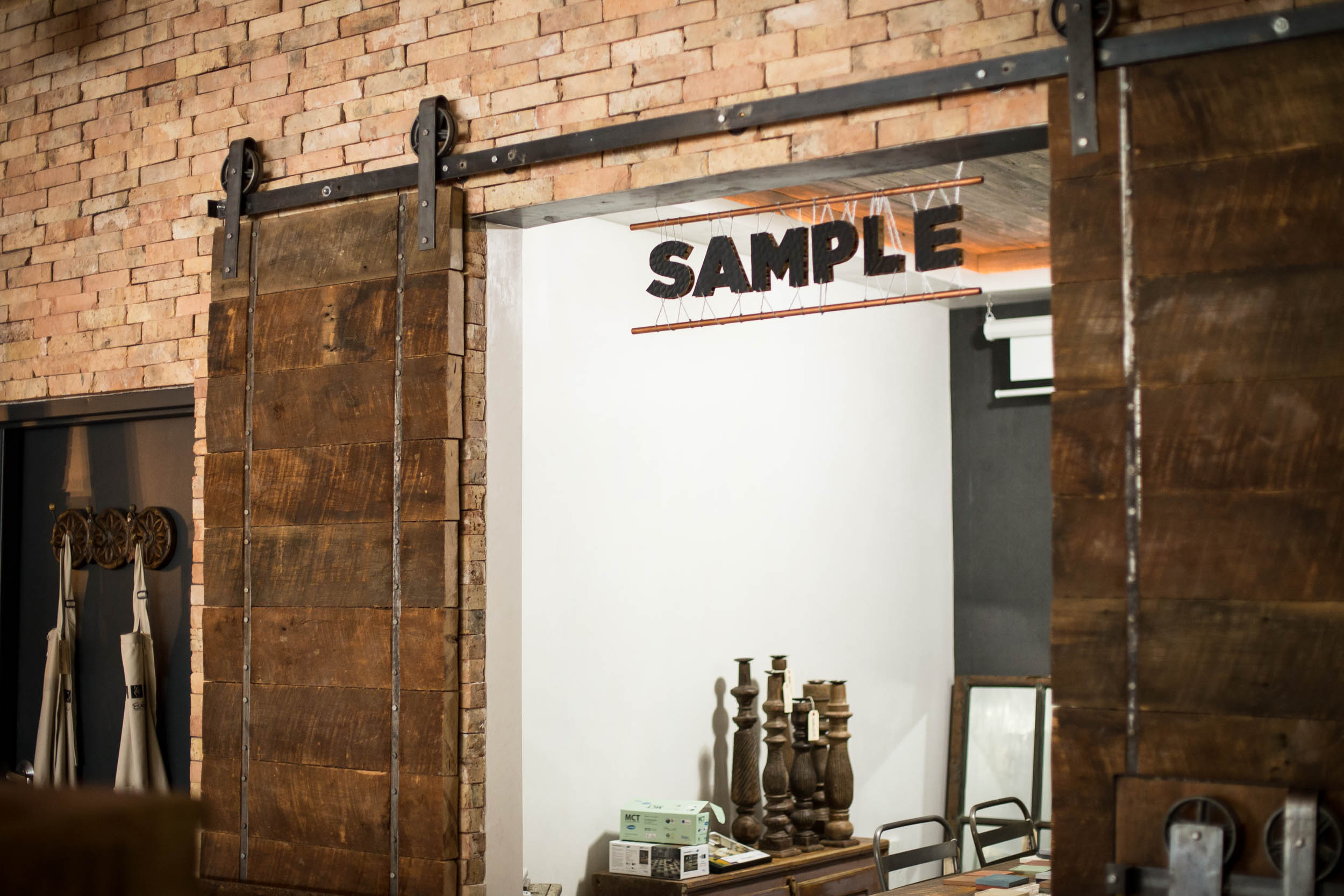 Eco Simplista signage crafted by DUOFAB