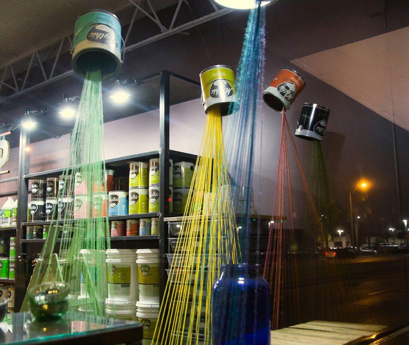 Eco Simplista | String Window Display
