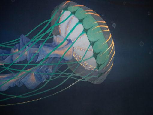 Oceanic | Jellyfish Mural
