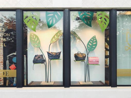Purse Ladies | Leaf Window Display