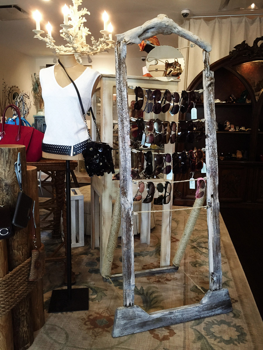 Boutique Fixtures for Purse Ladies crafted by DUOFAB